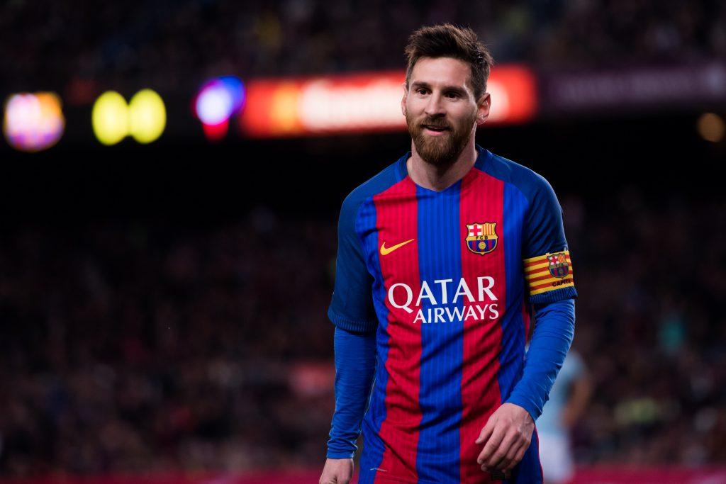 Аргентинец Лионель Месси (32) играет за испанский клуб «Барселона»