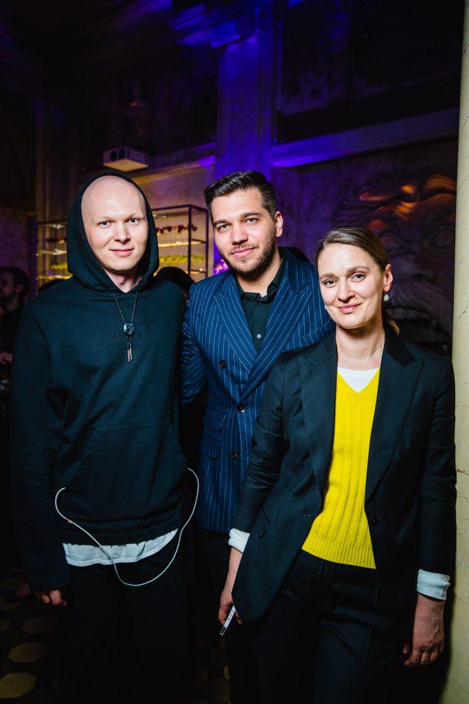 Гоша Карцев, Павел Бобров и Екатерина Павелко