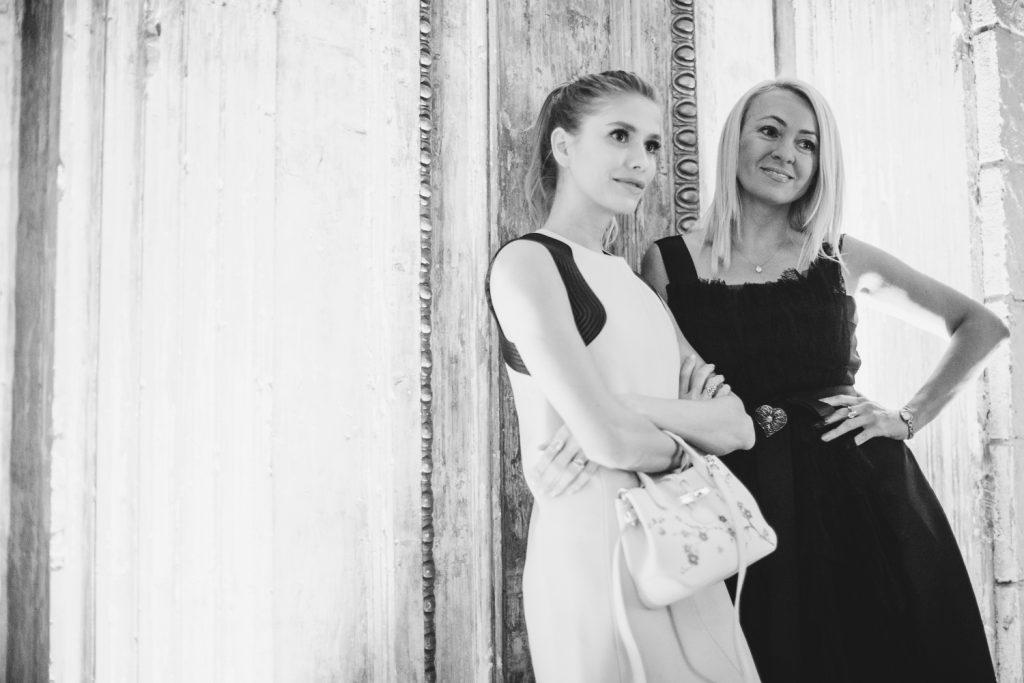 Елена Перминова и Яна Рудковская