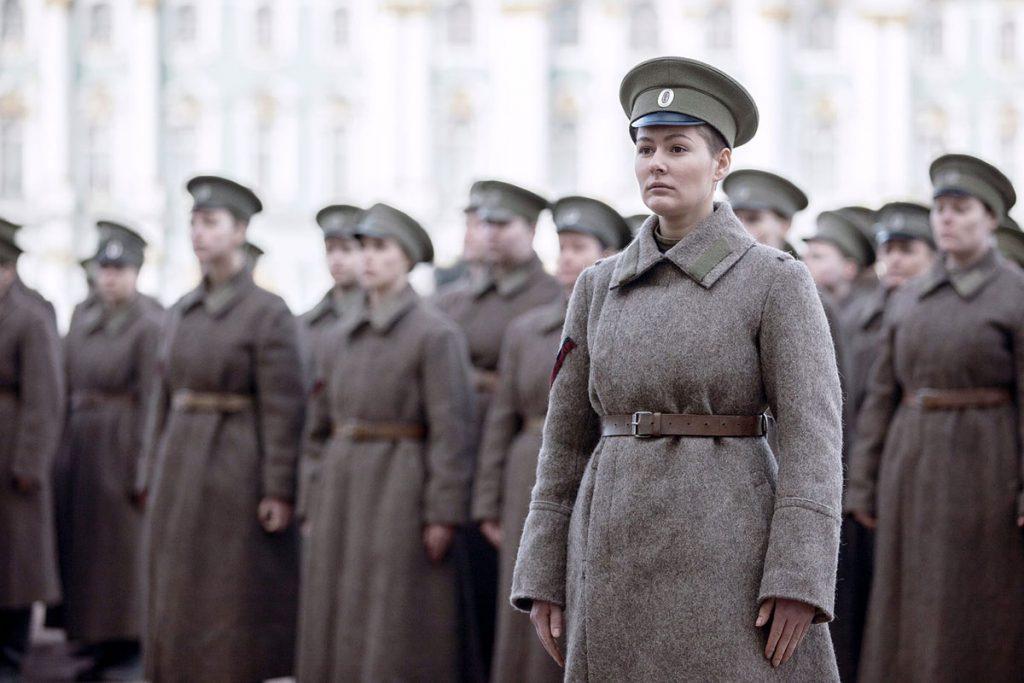 Мария Кожевникова в фильме «Батальон»