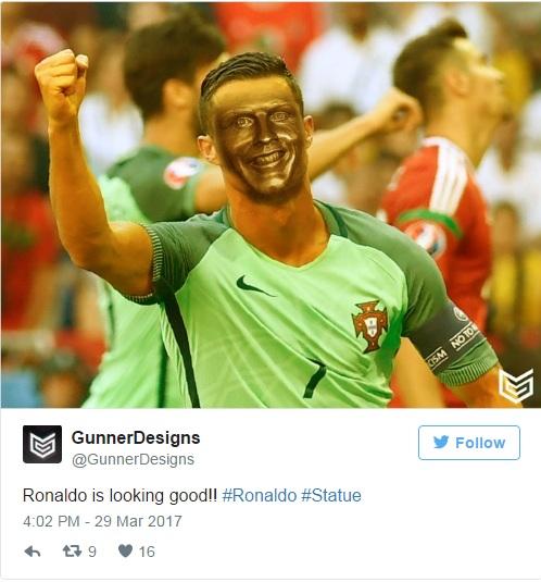 Роналду прекрасен