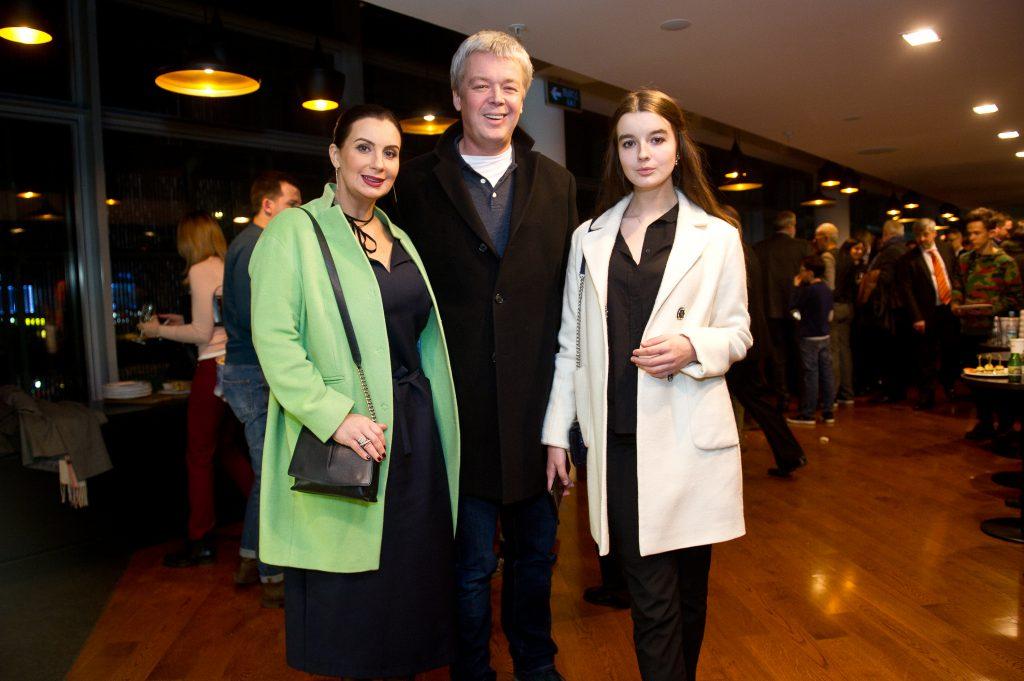 Екатерина, Александр и Александра Стриженовы