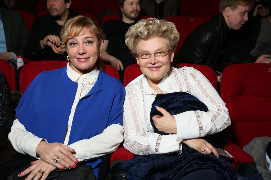 Арина Шарапова и Елена Малышева