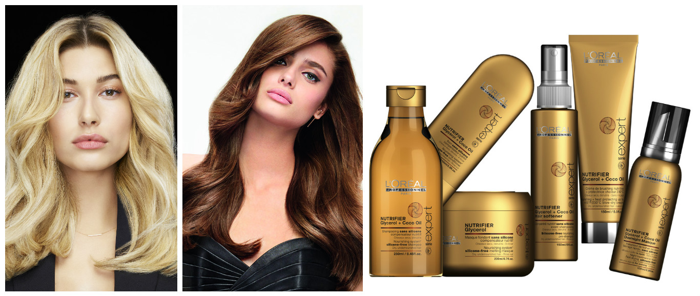 Питательная гамма для сухих волос Nutrifier, L'Oréal Professionnel