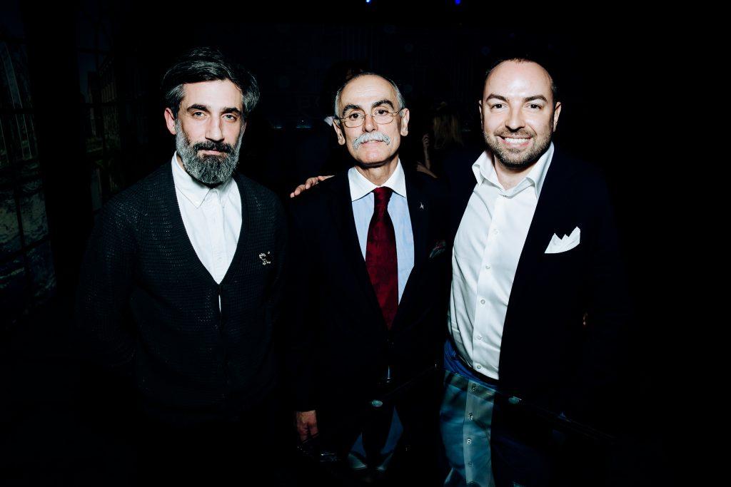 Иракли Родоная, Джулиано Морандин и Дмитрий Дудинский