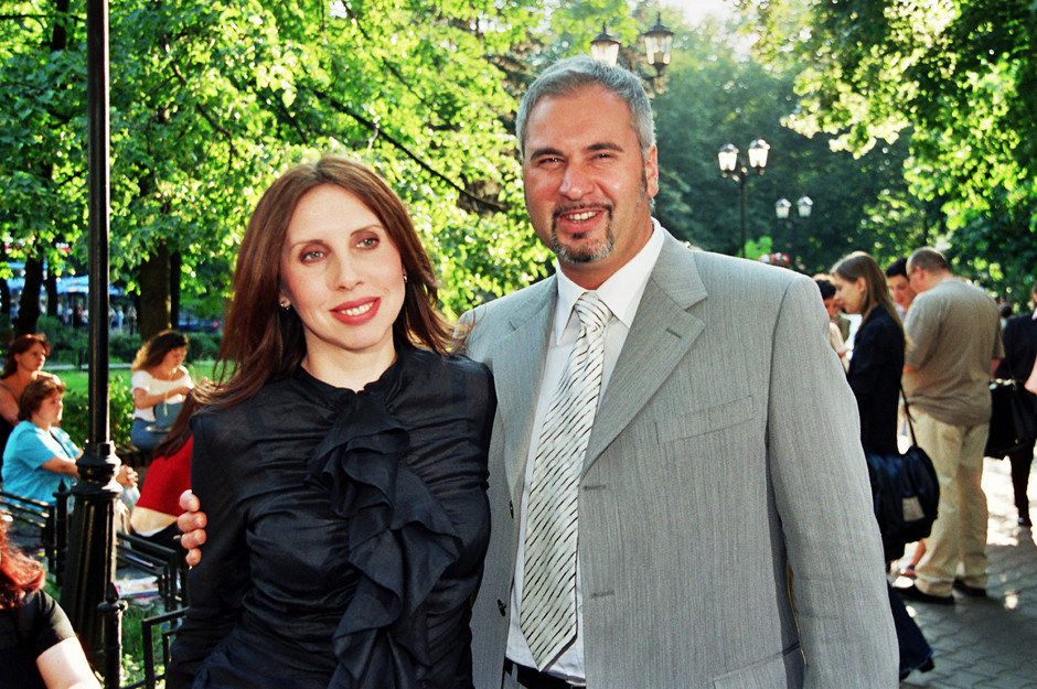 Ирина и Валерий Меладзе