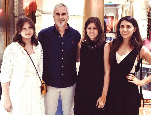 Валерий Меладзе с дочерьми