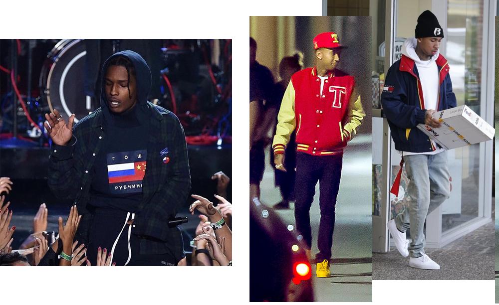 A$AP Rocky и Тайга