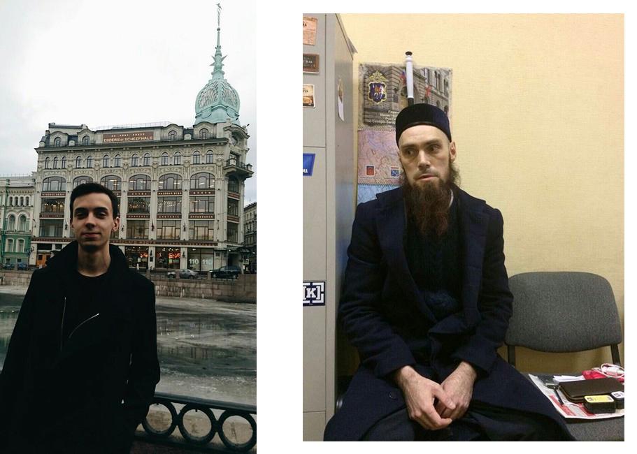 Максим Арышев и второй подозреваемый в теракте