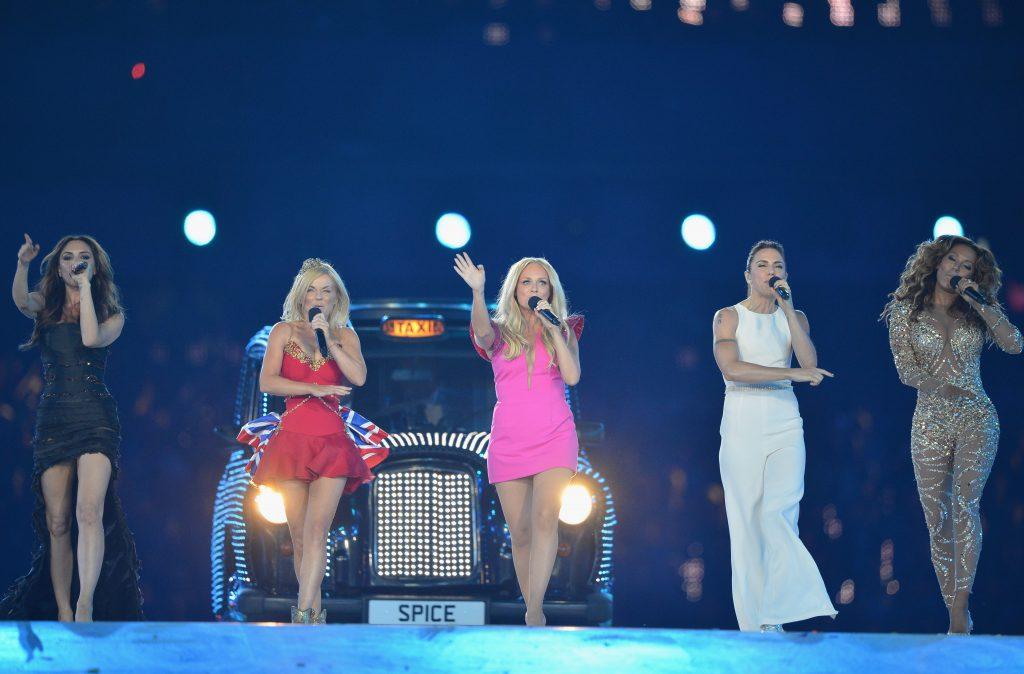 Spice Girls в 2012 году