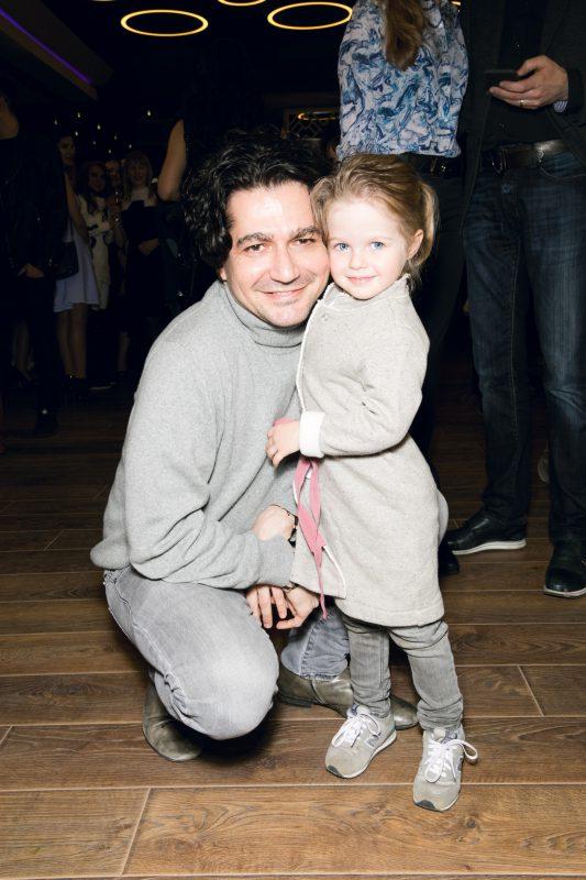 — Алексей Боков с дочерью Ангелиной