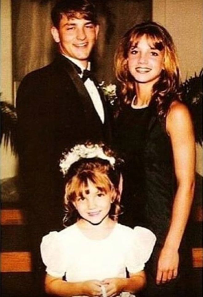 Бритни Спирс с семьей