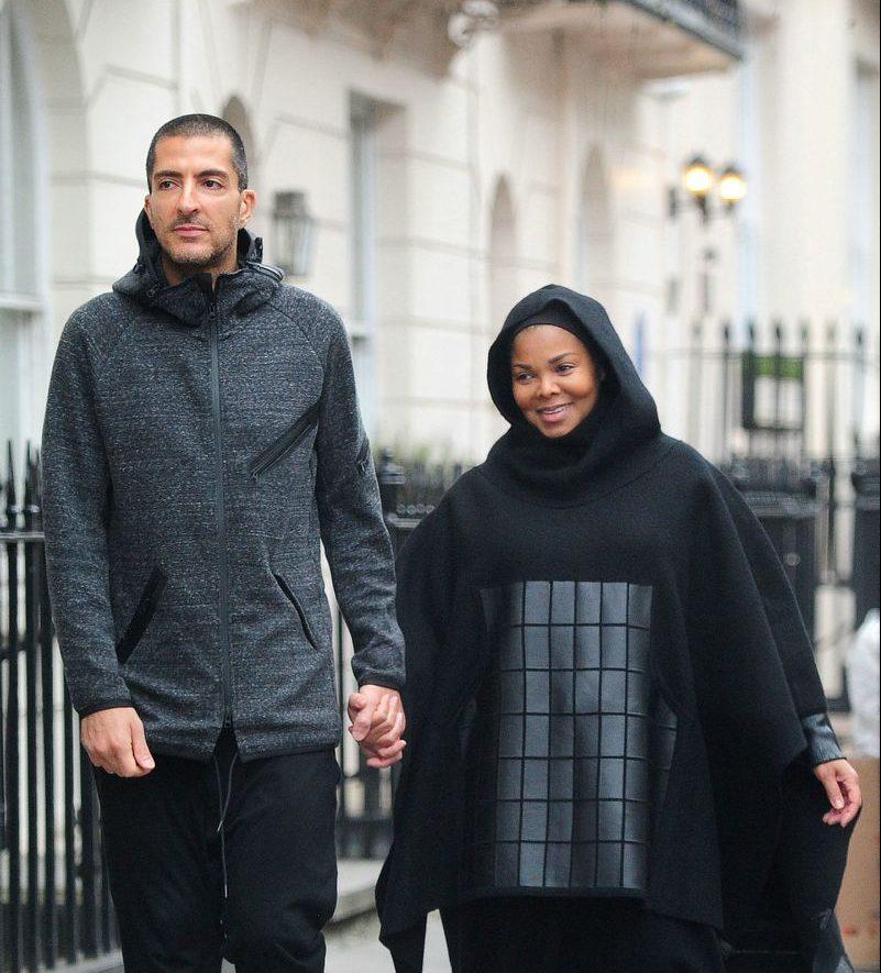 Джанет Джексон в хиджабе