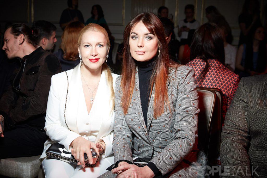 Екатерина Одинцова и Оксана Федорова