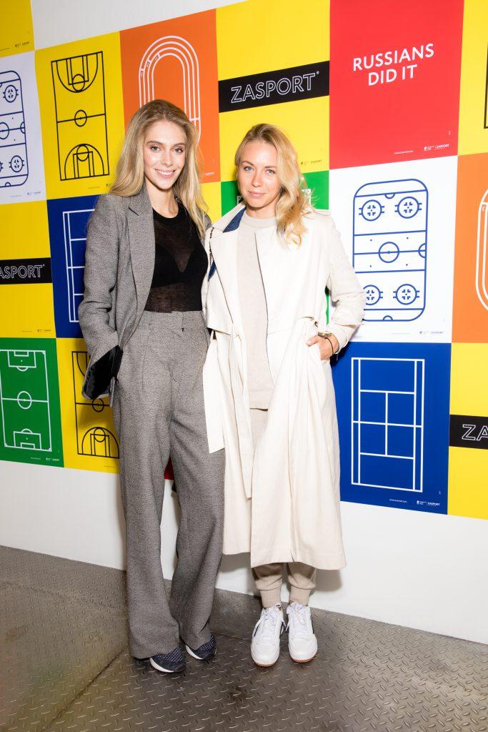 Ясмина Муратович и Анжелика Тиманина