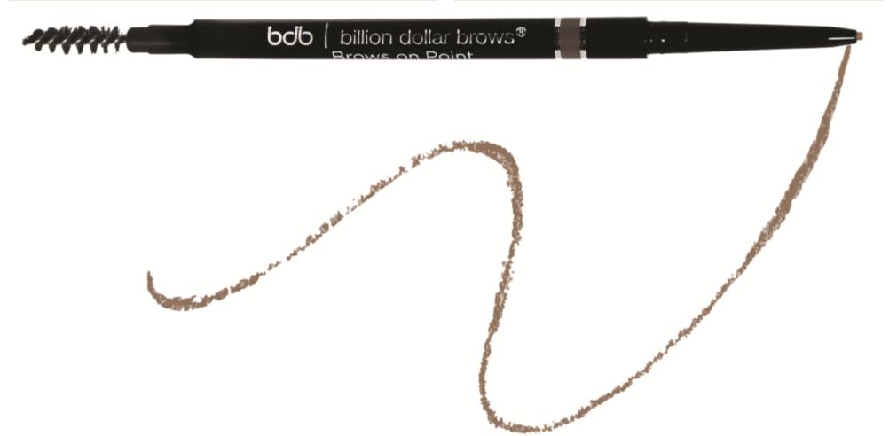 Карандаш для бровей Brows on point – Waterproof Micro Brow Pencil