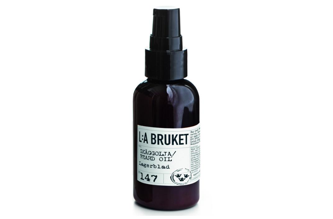 Масло для бороды, ухаживает за бородой и кожей лица, L:A Bruket