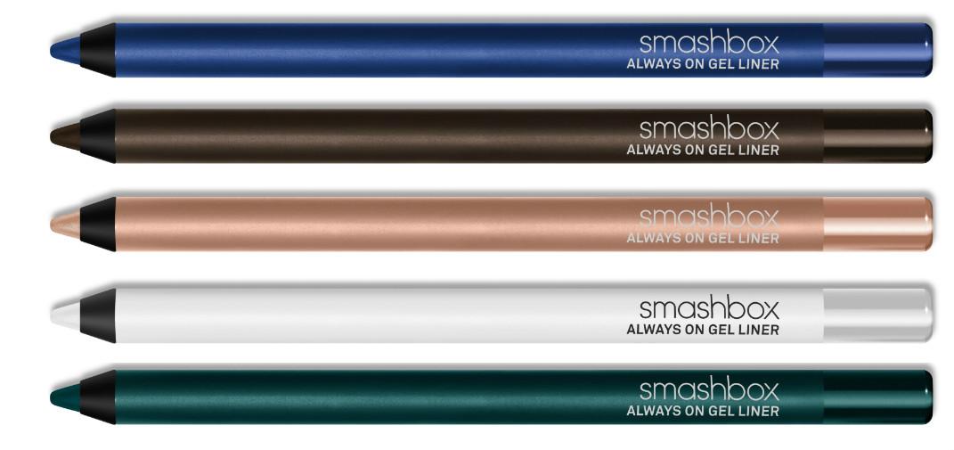 Супернасыщенные гелевые карандаши Always On, Smashbox