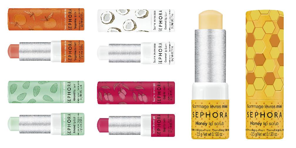 Бальзамы для губ Sephora
