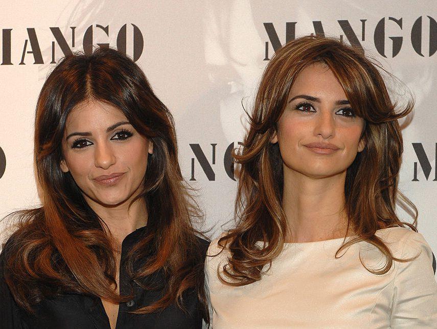 Пенелопа Крус и ее сестра Моника для коллекции Mango ...