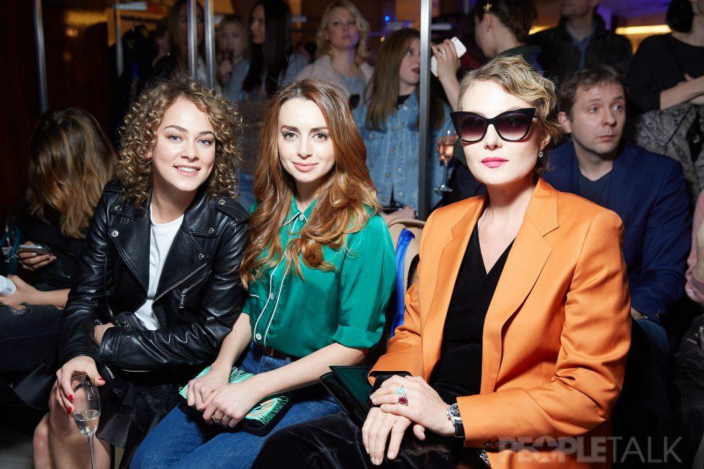 Аглая Тарасова, Анжелика Каширина и Рената Литвинова
