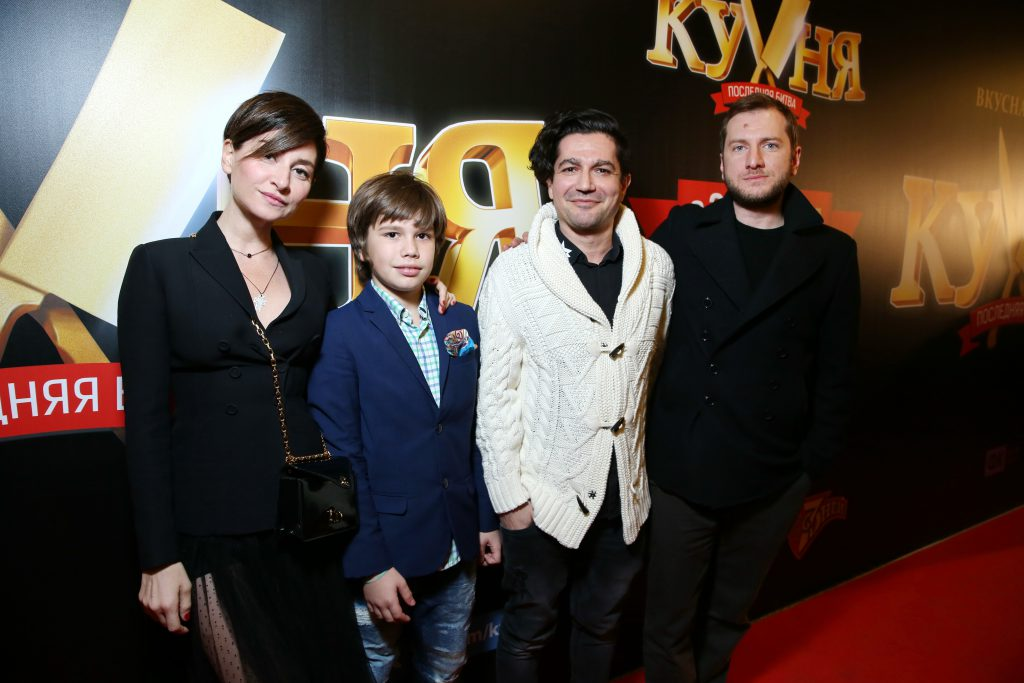 Софико Шеварднадзе, Алексей Боков и Резо Гигинеишвили
