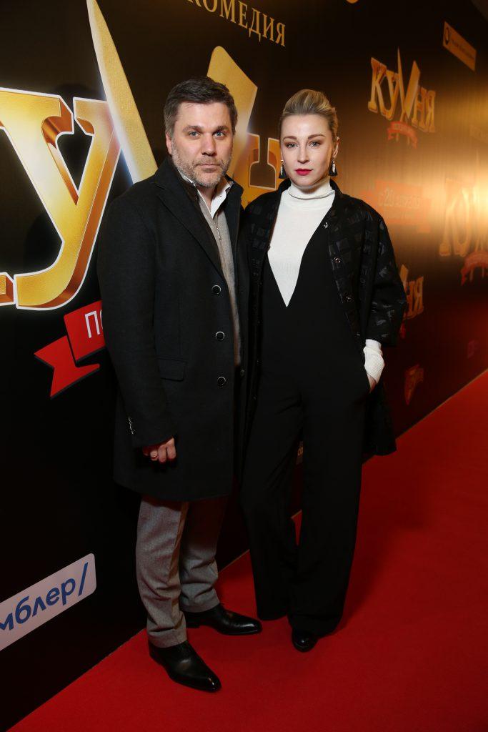 Джамал Тетруашвили и Ольга Медыныч