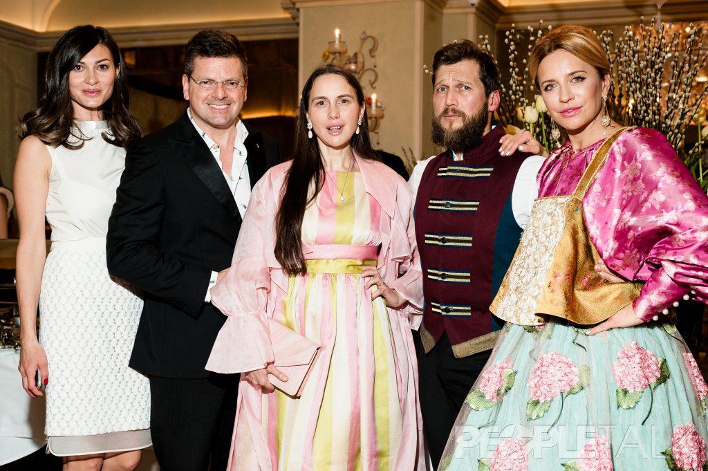 Ирина Йовович, Константин Андрикопулос, Петр Аксенов и Виктория Шелягова