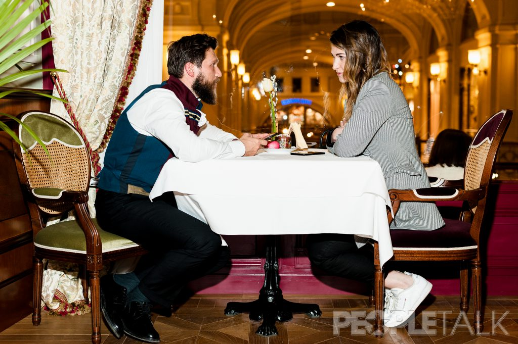 Петр Аксенов и Лаура Джугелия