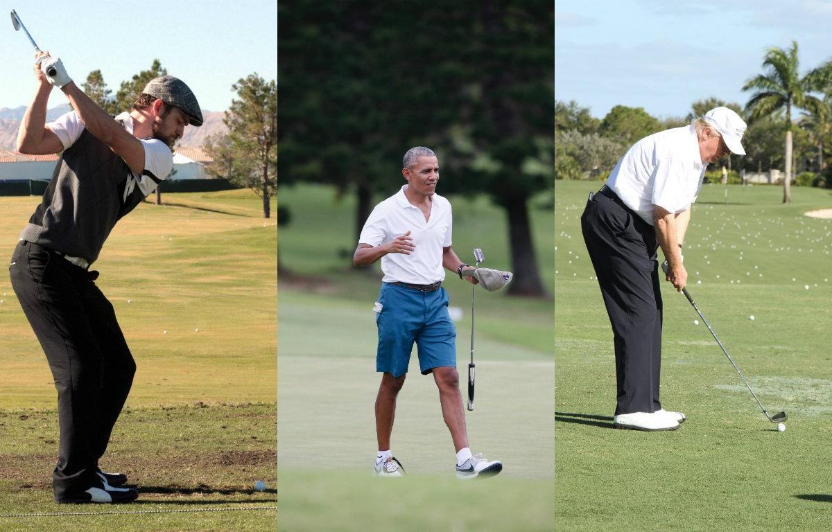 Джастин Тимберлейк, Барак Обама, Дональд Трамп Все делают это! Главный тренд сезона – гольф Все делают это! Главный тренд сезона – гольф 1492678585