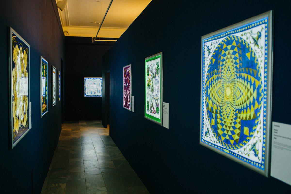 — Выставка «Шелковый лабиринт»