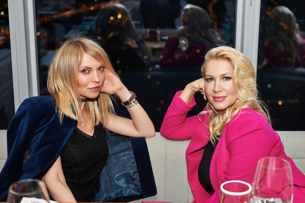 Дарья Михалкова и Екатерина Одинцова