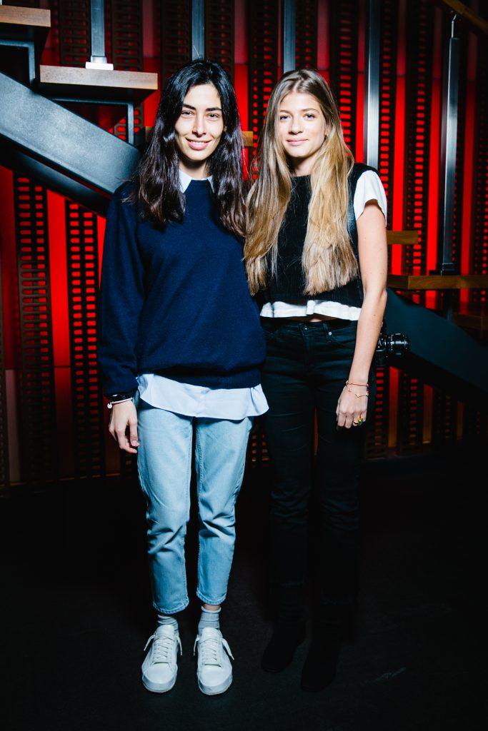 Анка Цицишвили и Александра Новикова