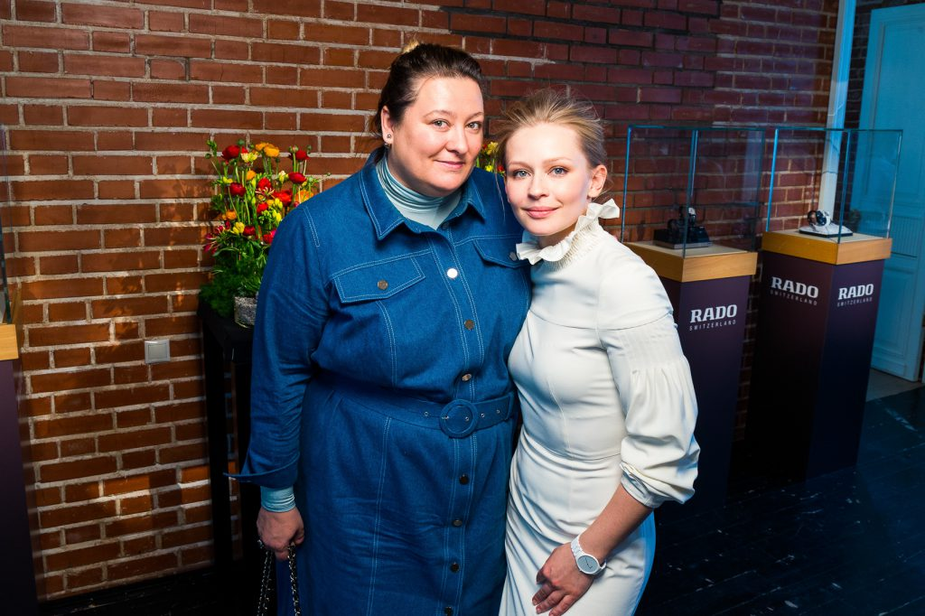 Маша Федорова и Юлия Пересильд
