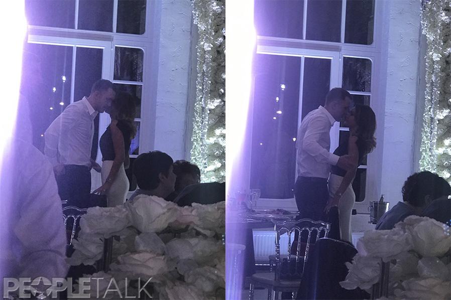 Мария Белова и T-killah на свадьбе Мота