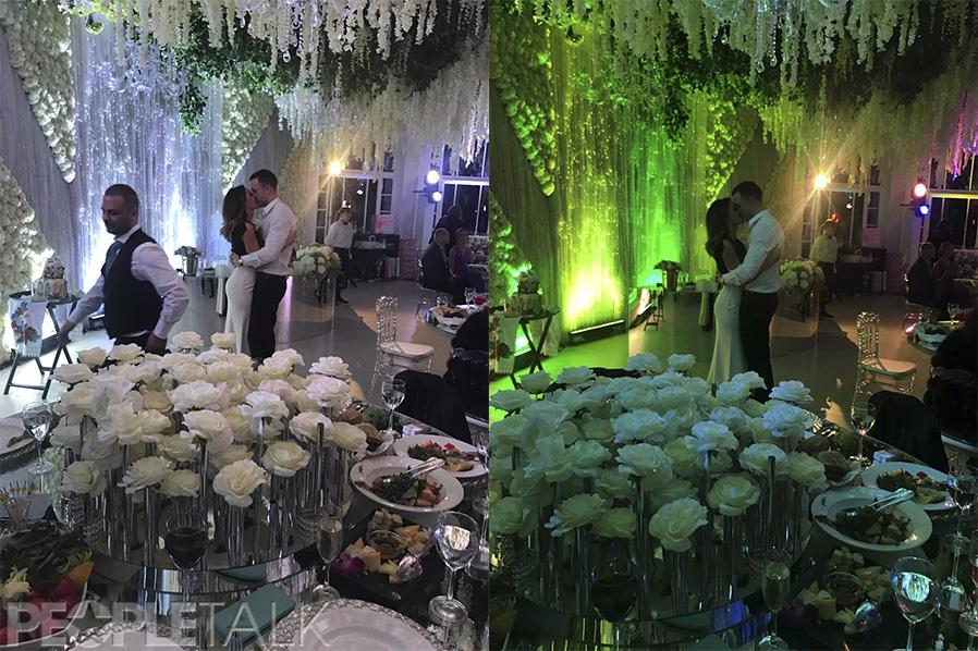 Марія Бєлова і T-killah на весіллі Мота і Марії Мельникової