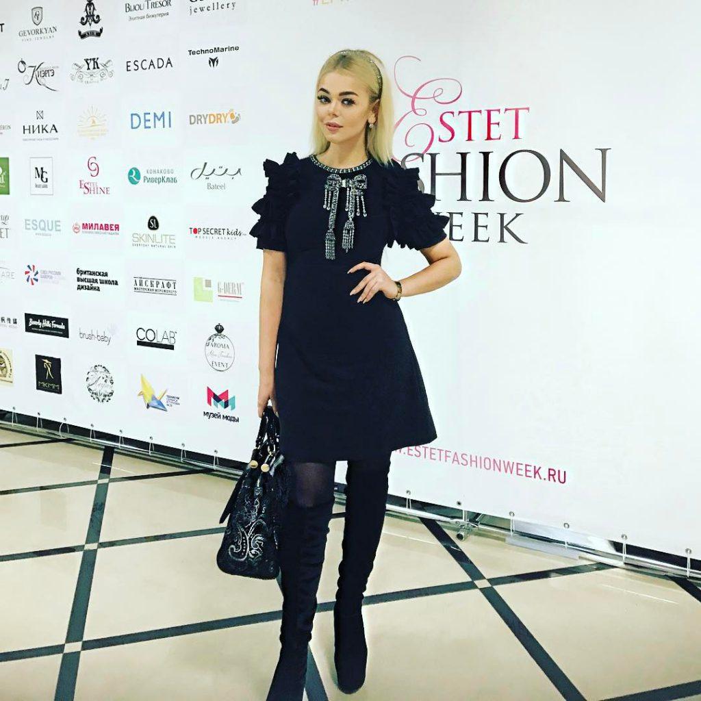 Алина Гросу на Еstet Fashion Week