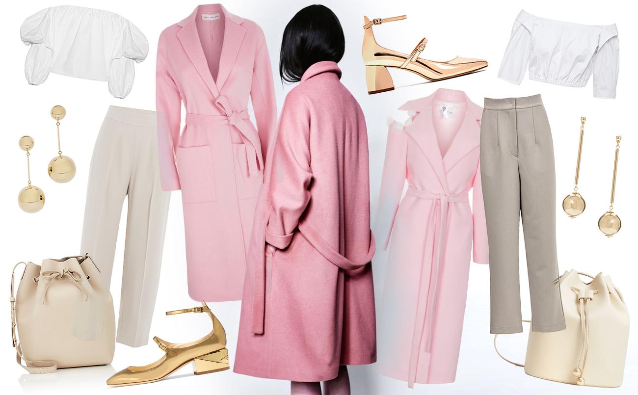 розовое пальто. хочу-могу
