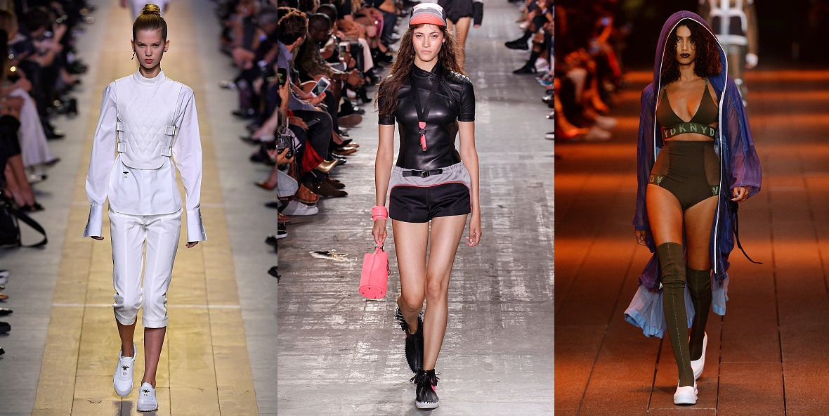 Christian Dior, Alexander McQueen, DKNY