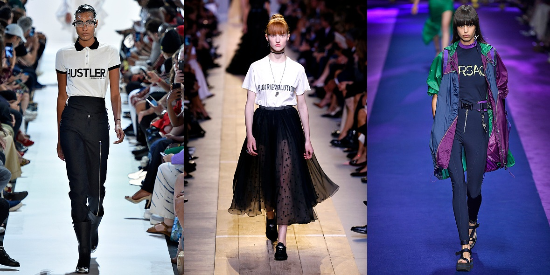 Hood By Air, Chrisrtian Dior, Versace