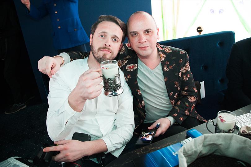 Сергей Аутраш и Иван Афанасьев