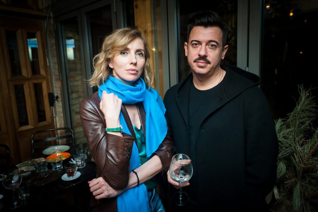 Светлана Бондарчук и Денис Симачев