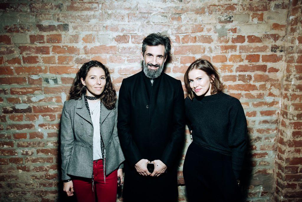 Мария Далакян, Иракли Родоная и Тата Мамиашвили-Бондарчук