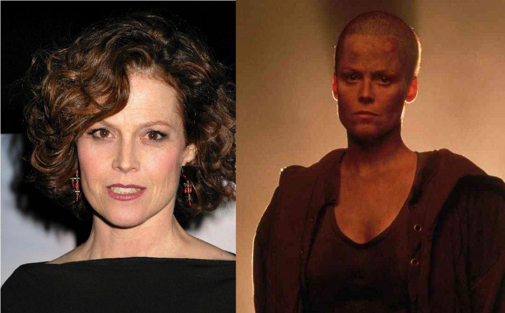 Обладательница премий «Золотой глобус» и BAFTA Сигурни Уивер (68) сама решила сбрить все волосы в 1992 году, чтобы лучше вжиться в роль в фильме «Чужой-3». По ее словам, продюсеры на таком преображении не настаивали.