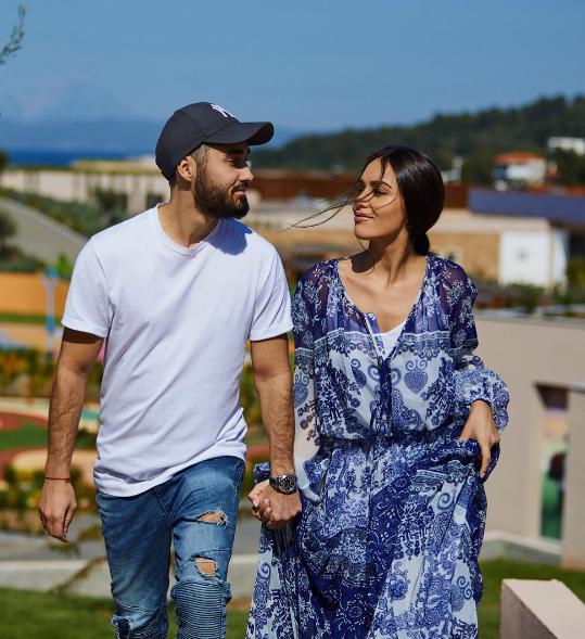 Мот и Мария Мельникова в Греции