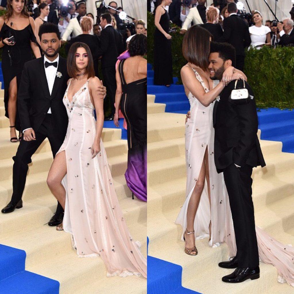 Селена Гомес и The Weeknd на Met Gala в мае