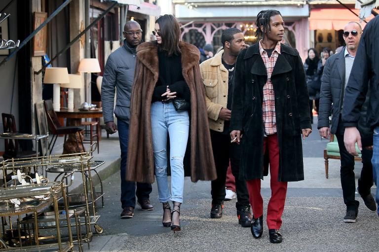 A$AP Rocky и Кендалл Дженнер