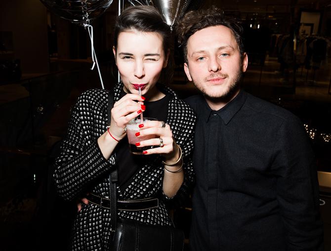 Лена Кончаловская и Андрей Артемов