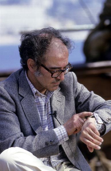 Жан-Люк Годар на Каннском кинофестивале в 1985 году
