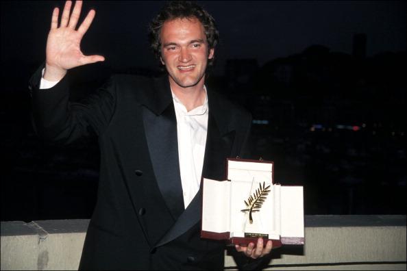 Квентин Тарантино на Каннском кинофестивале в 1994 году
